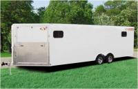 Newmans Enclosed Car Hauler 28'