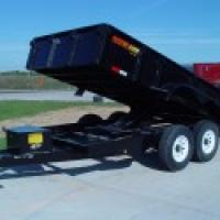 Doolittle Master Dump 7200 Series Dual Axle 10,000 GVW 10' Bed Available in Single & Dual Cylinder or Scissor Lift