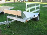 Newman's Aluminum Motorcycle Trailer 1AM58-1i